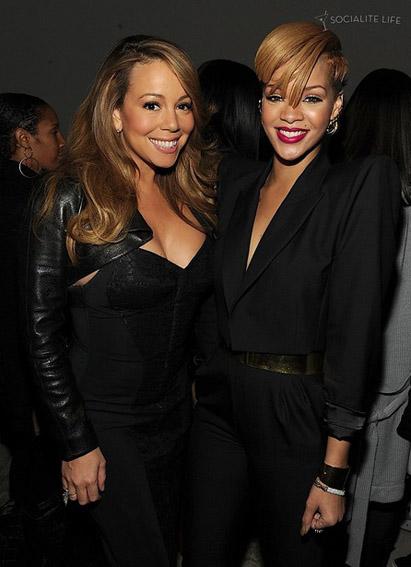 Mariah Carey et Rihanna