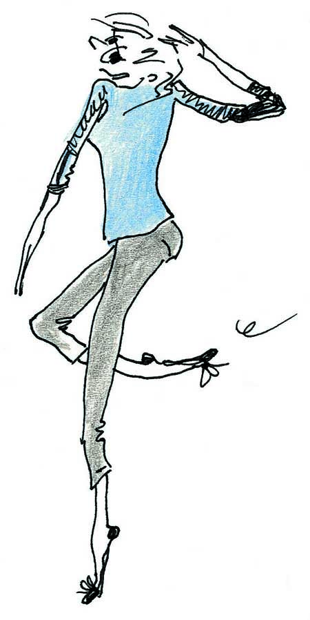 Illustration d'Inès de la Fressange