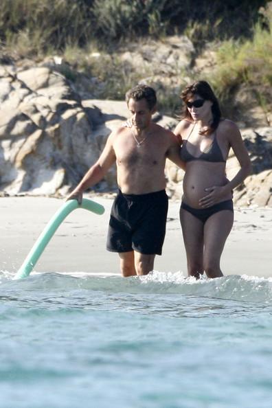 Carla Bruni-Sarkozy et Nicolas Sarkozy
