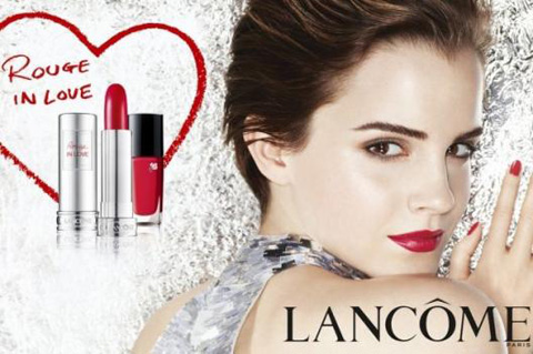 Publicité Rouge in Love