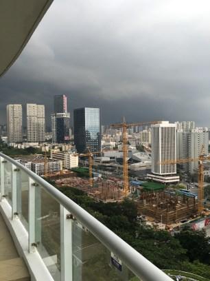 L'orage en début de semaine