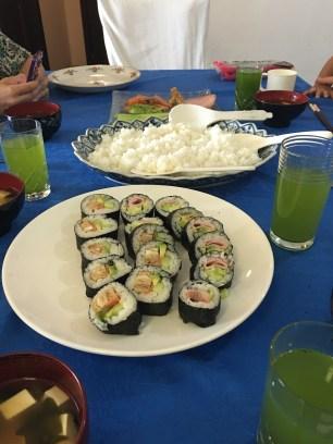 """""""Sushi class """" avec les cousines japonaises"""