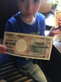 saviez- vous qu'il existe un billet de 2000 yens ?