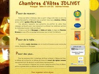 Chambres d'hôtes Jolivet en Bourgogne