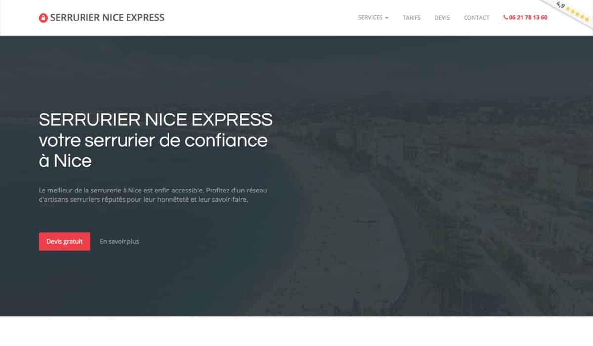 Serrurier Nice Express : les meilleurs serruriers de votre région