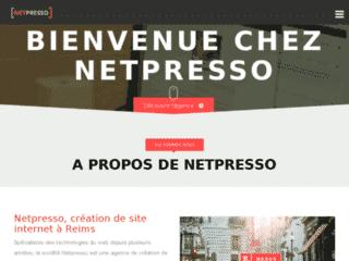 Netpresso, Agence de création de sites internet à Reims et création de supports multimédias