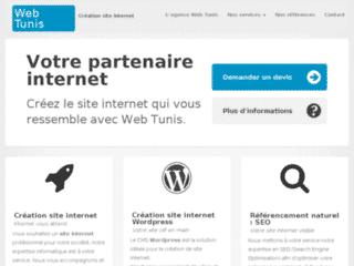 Création site internet – Web Tunis