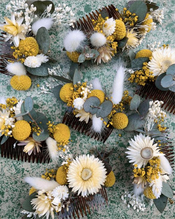 Peignes-fleurs-jaunes-mariage