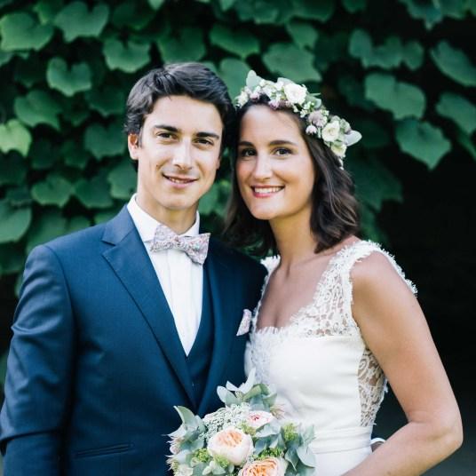 couple-couronne-bouquet-marie-mariage