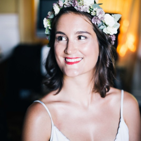 couronne-fleurs-mariee-champetre-mariage