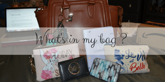 What's in my bag ?