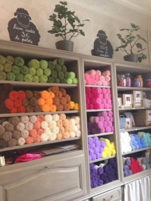 laine cardée _pelotes