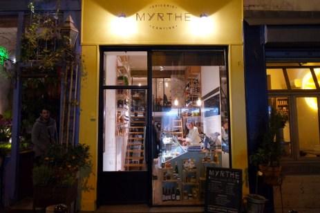 Myrthe, les foodeuses, cantine, epicerie, paris