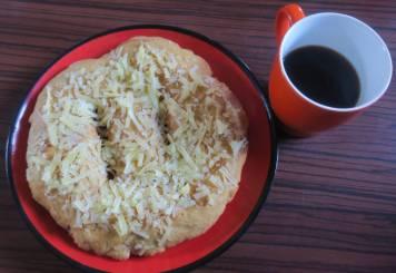 Cheese gurung bread