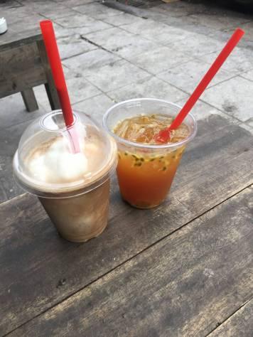 Café à la noix de coco