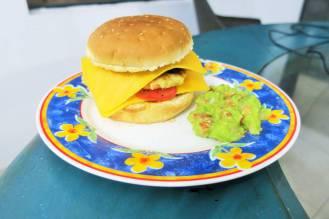 Hamburger végétarien
