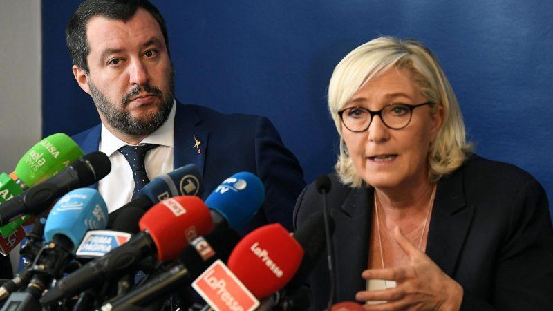Marine Le Pen songe à une alliance des droites européennes, sans Steve Bannon