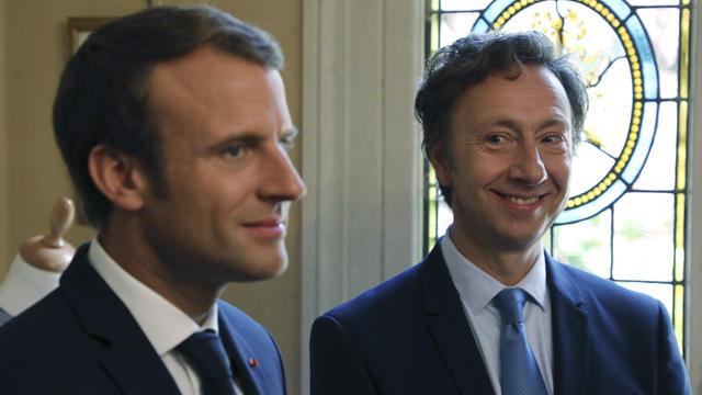Stephane Bern confondu avec Emmanuel Macron