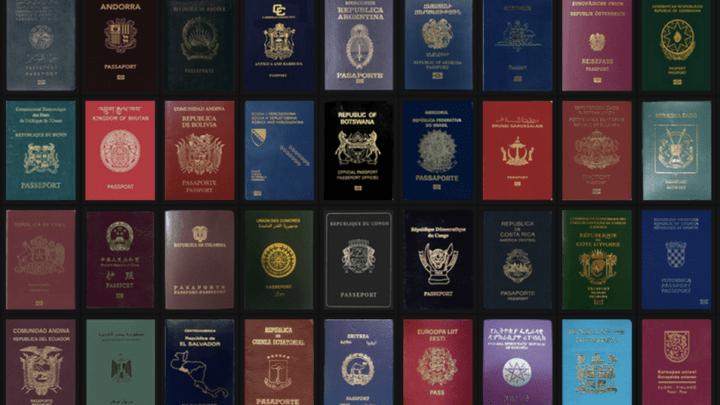Le passeport français sur le podium