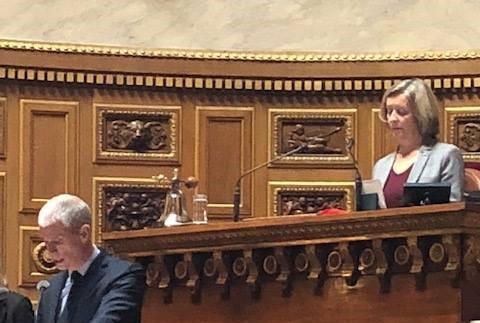 Une sénatrice des Français de l'étranger élue à la Vice-Présidence du Sénat