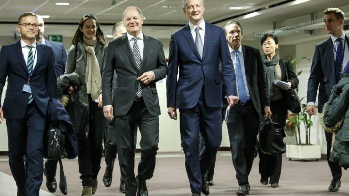 Berlin et Paris annoncent un budget de la zone euro en 2021