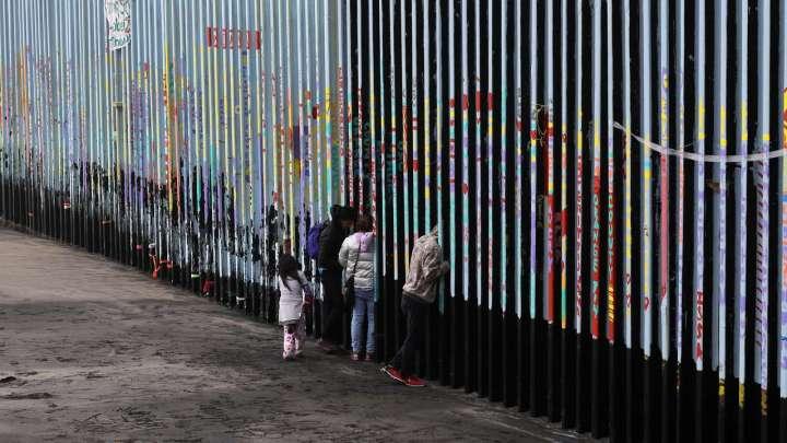 Trump et son mur mexicain