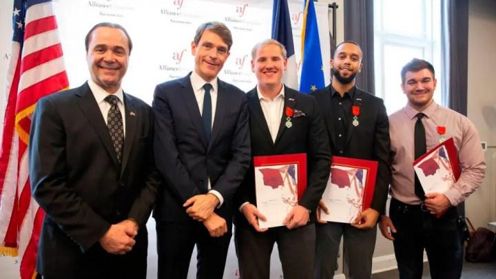 Trois héros devenus Français… de l'étranger