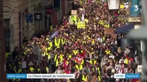 """""""Gilets jaunes"""": mobilisation au plus bas une semaine avant la fin du grand débat"""