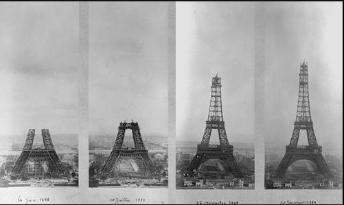 la Tour Eiffel a 130 ans - VIDEO