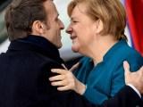 Macron prêt à soutenir Merkel à la présidence de la Commission