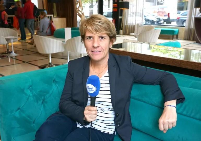 Interview de la députée LREM Samantha Cazebonne, en déplacement au Portugal