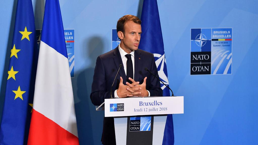 Macron choisit la provocation pour réveiller l'Europe