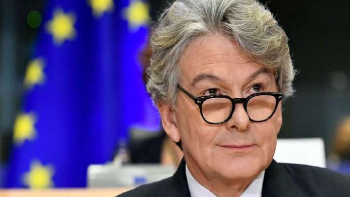 Thierry Breton définitivement nommé commissaire au marché intérieur
