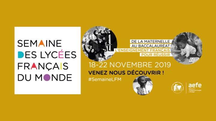 Suite de la semaine des lycées français du monde