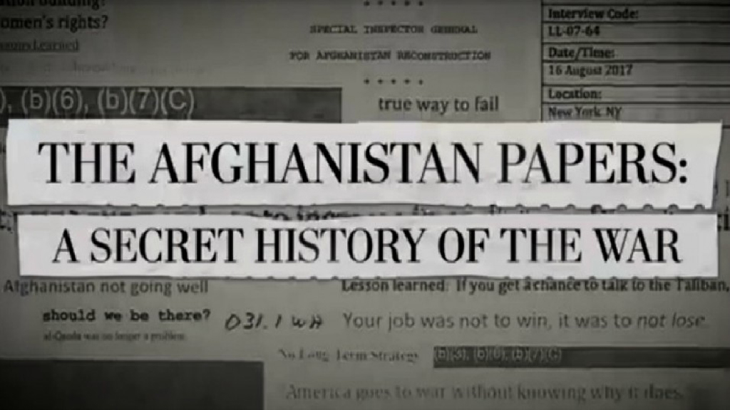 « Afghanistan papers » : les mensonges volontaires américains