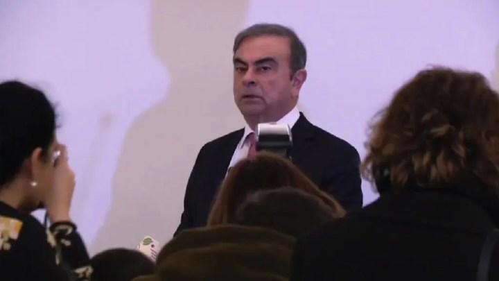 Carlos Ghosn, Toujours Debout ! Combatif, depuis Beyrouth !