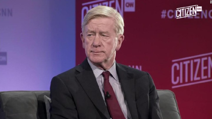 L'anti-Trump, Bill Weld.