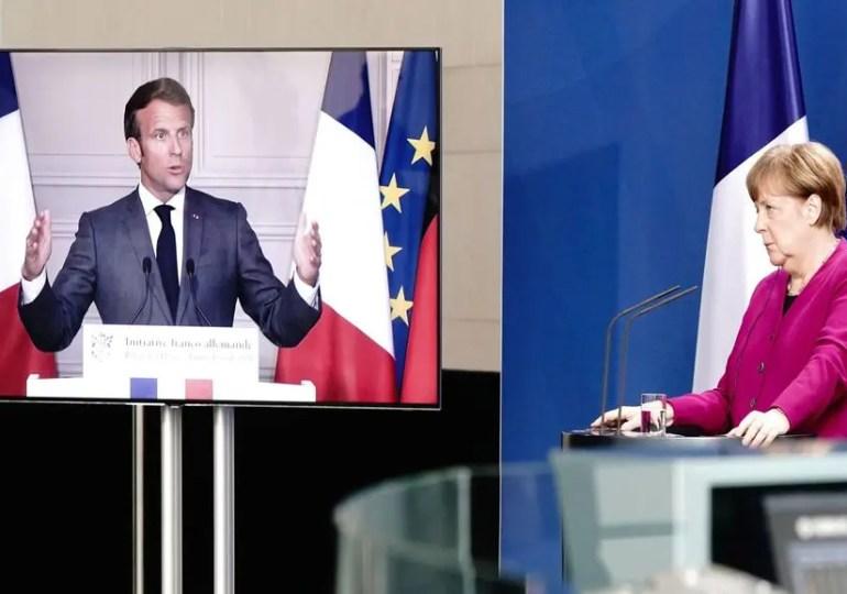 Merkel et Macron proposent un plan de relance inédit de 500 milliards d'euros