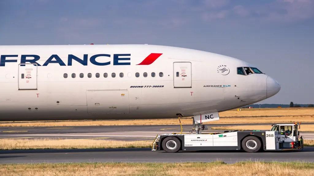 Air France à l'épreuve du Coronavirus