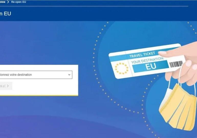 Re-open EU - L'application pour circuler librement dans l'espace Schengen