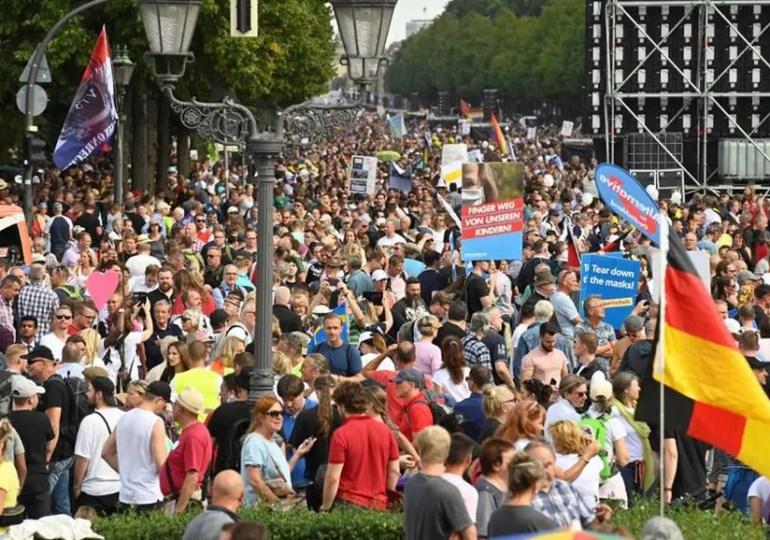Mouvement anti masques, manifestation à Berlin, qu'en pensent les Français d'Allemagne?