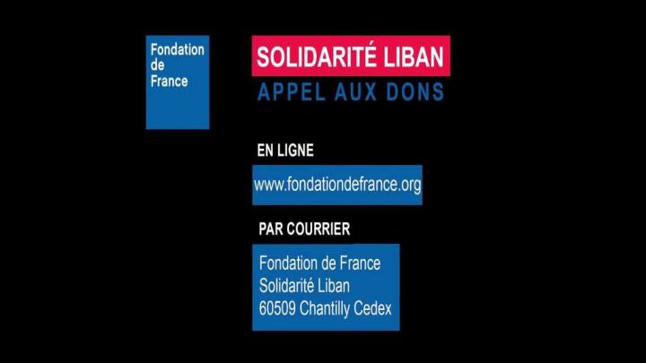 La Fondation de France lance un appel aux dons pour les Libanais à Beyrouth – Podcast Video