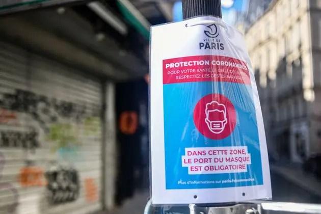 Avec plus de cinquante cas positifs au Covid-19 pour 100.000 habitants, Paris a été classé ce vendredi 14 août «zone active» de la circulation du virus.
