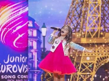 Valentina gagne l'Eurovision Junior
