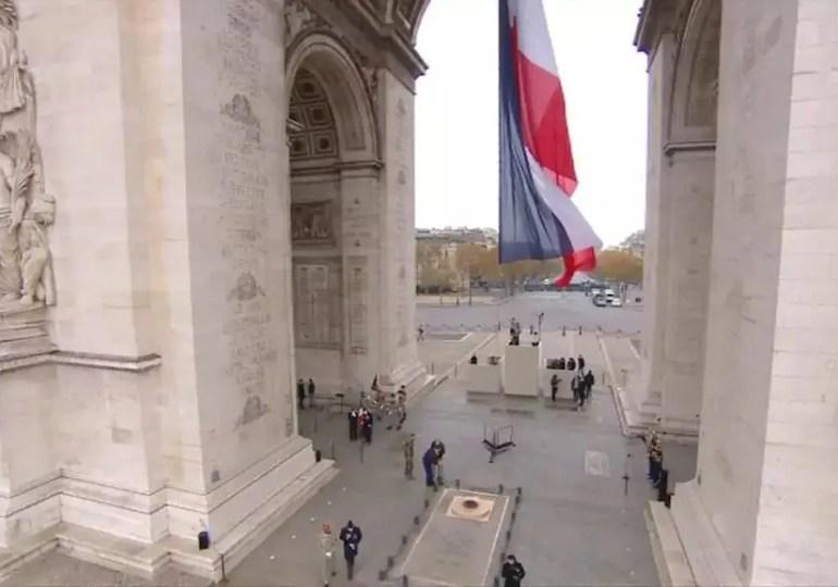 Cérémonie du 11 novembre à Paris