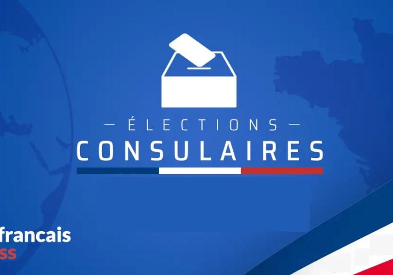 Consulaires partielles le 7/11 Elections AFE le 05/12