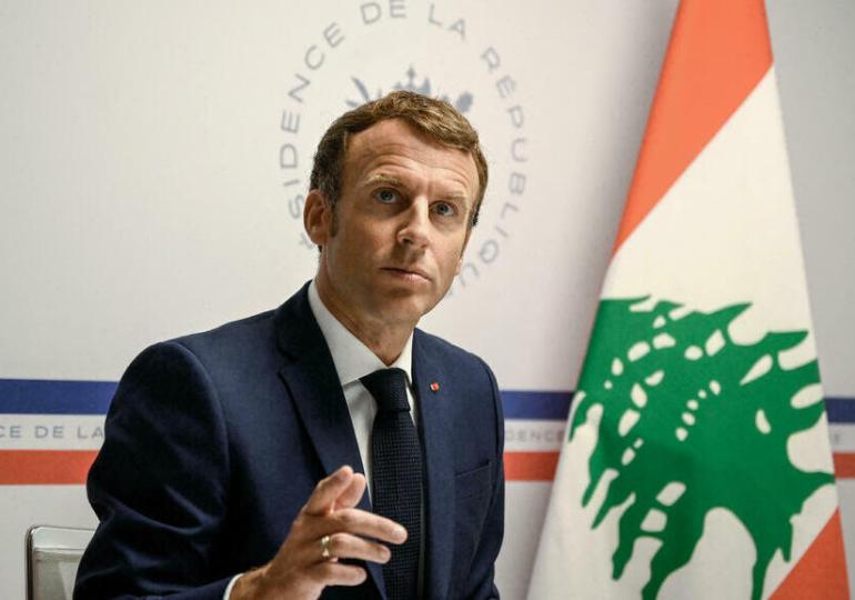 Emmanuel Macron promet 100 millions d'euros de plus au Liban mais fustige à nouveau ses dirigeants