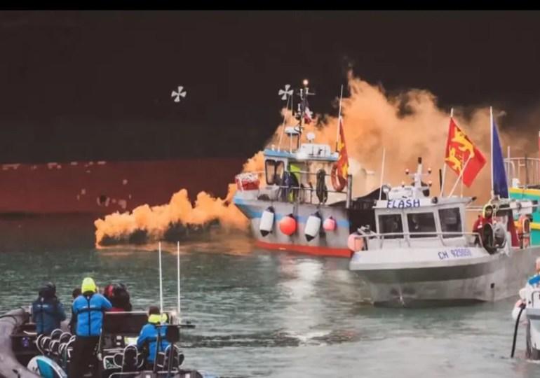 Entre Londres et Paris, les pêcheurs de Jersey dans l'expectative