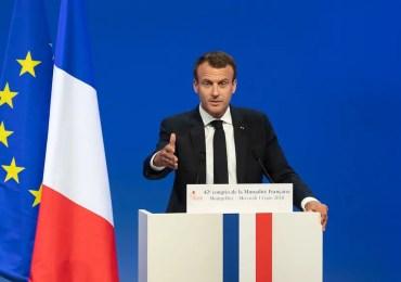 Migrants : Emmanuel Macron désire un nouveau traité