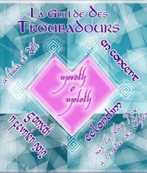 Concert des Troubadours samedi soir